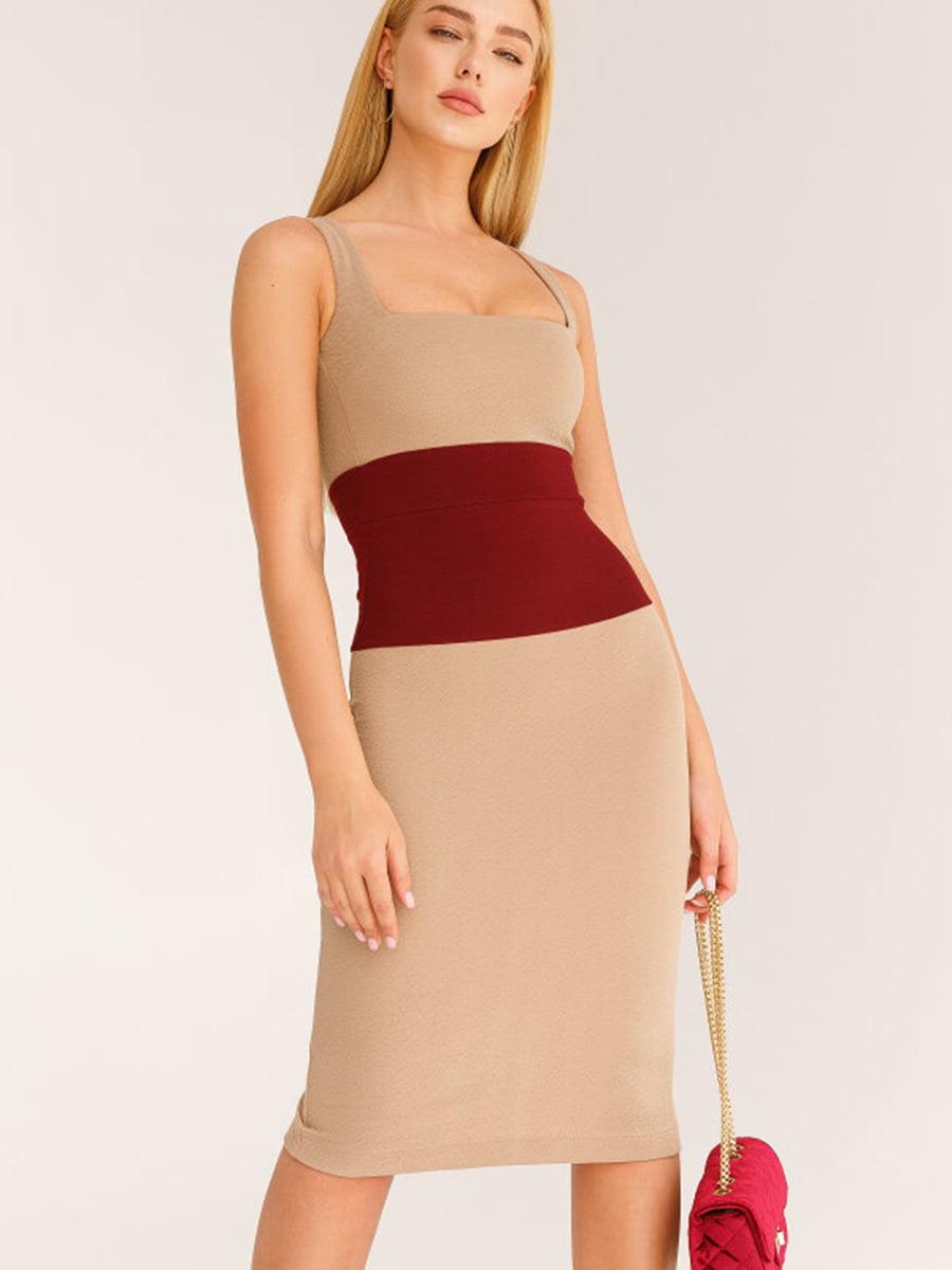 Платье двухцветное | 5525455