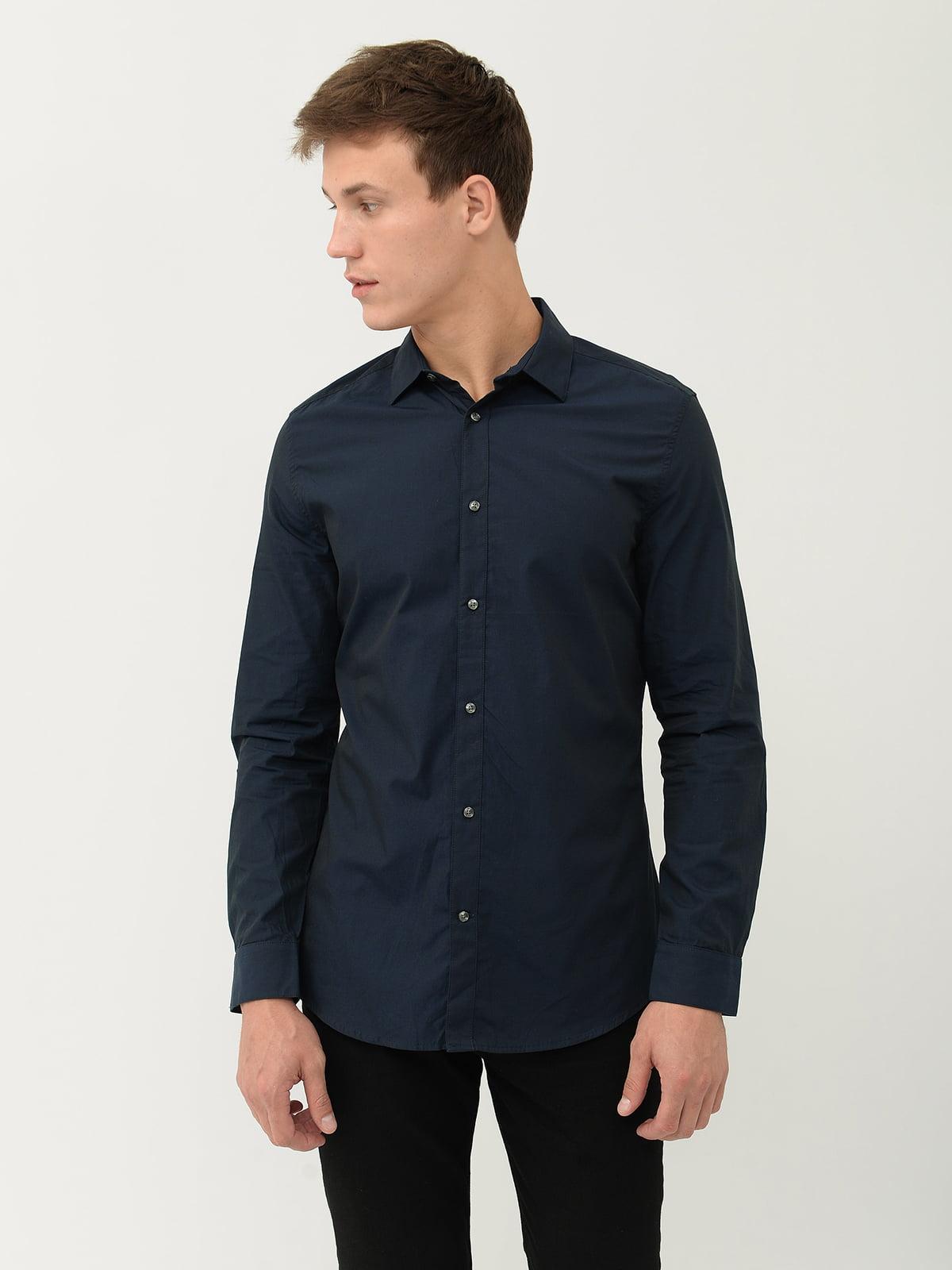 Рубашка синяя | 5456876
