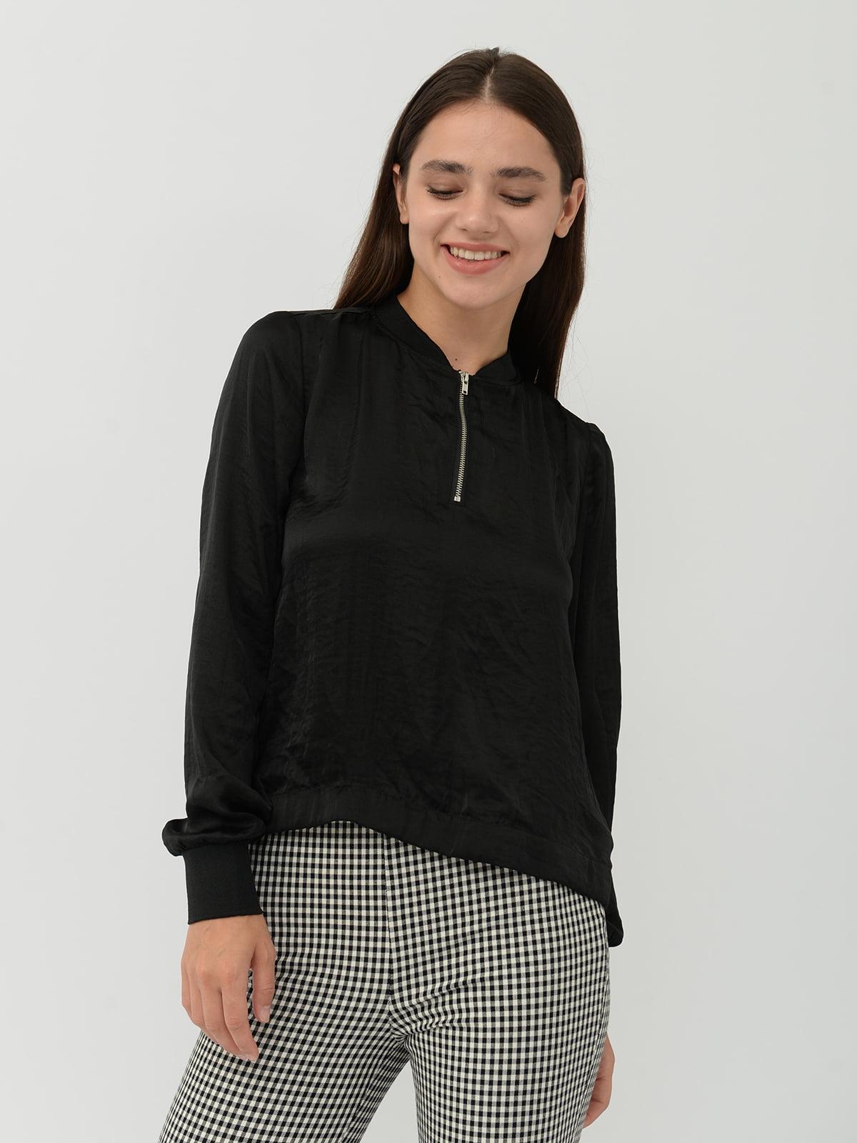Блуза черная | 5487819
