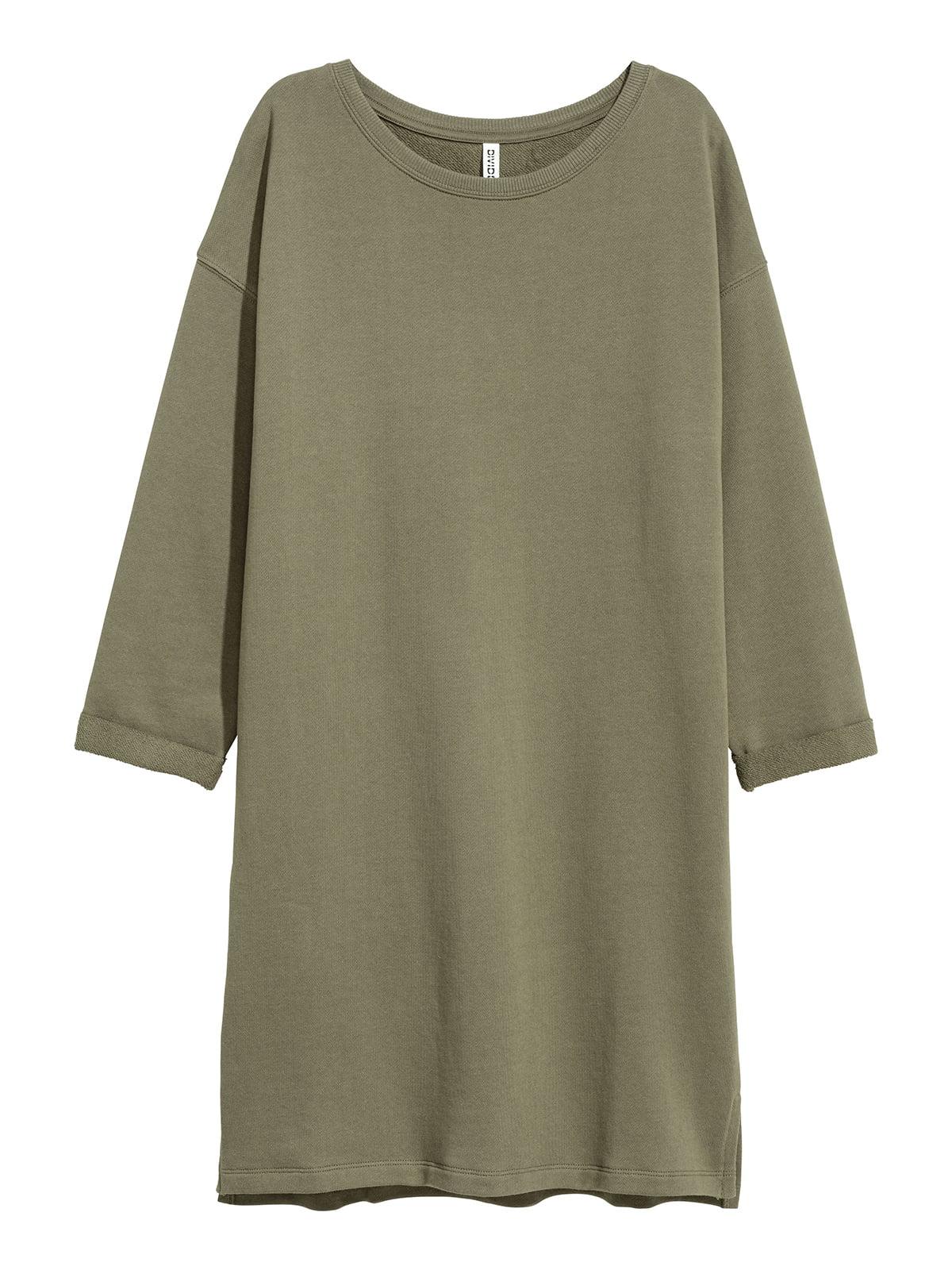 Платье цвета хаки | 5511609
