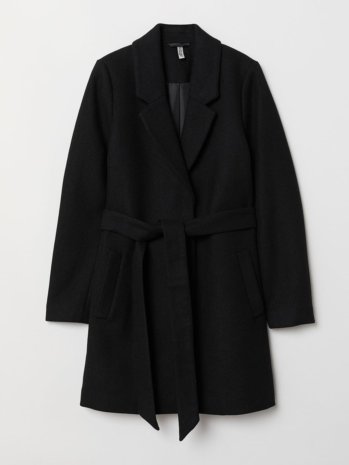 Пальто черное | 5511632