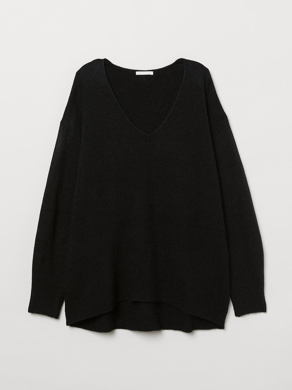 Пуловер черный | 5511638