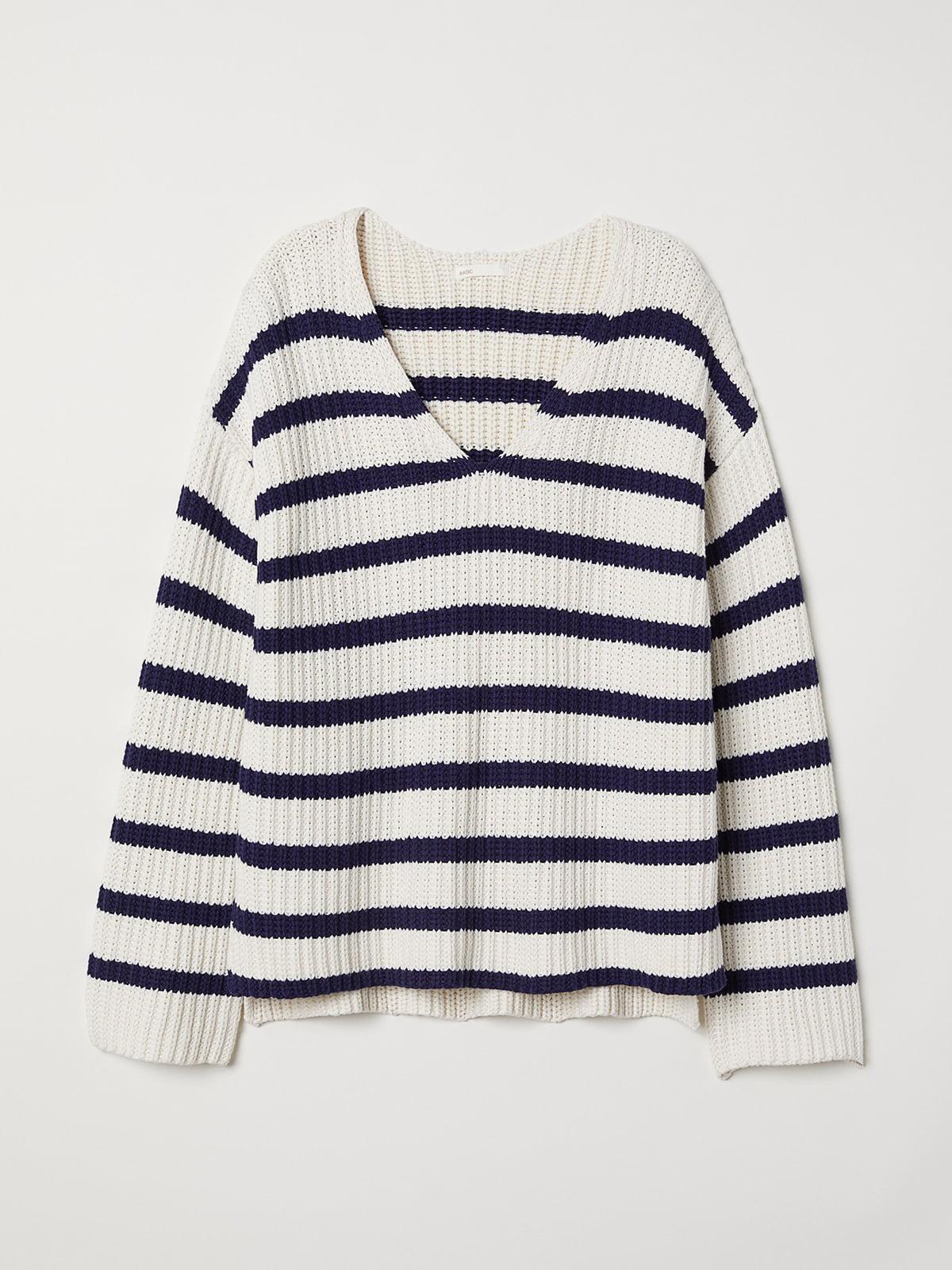 Пуловер в полоску   5511647