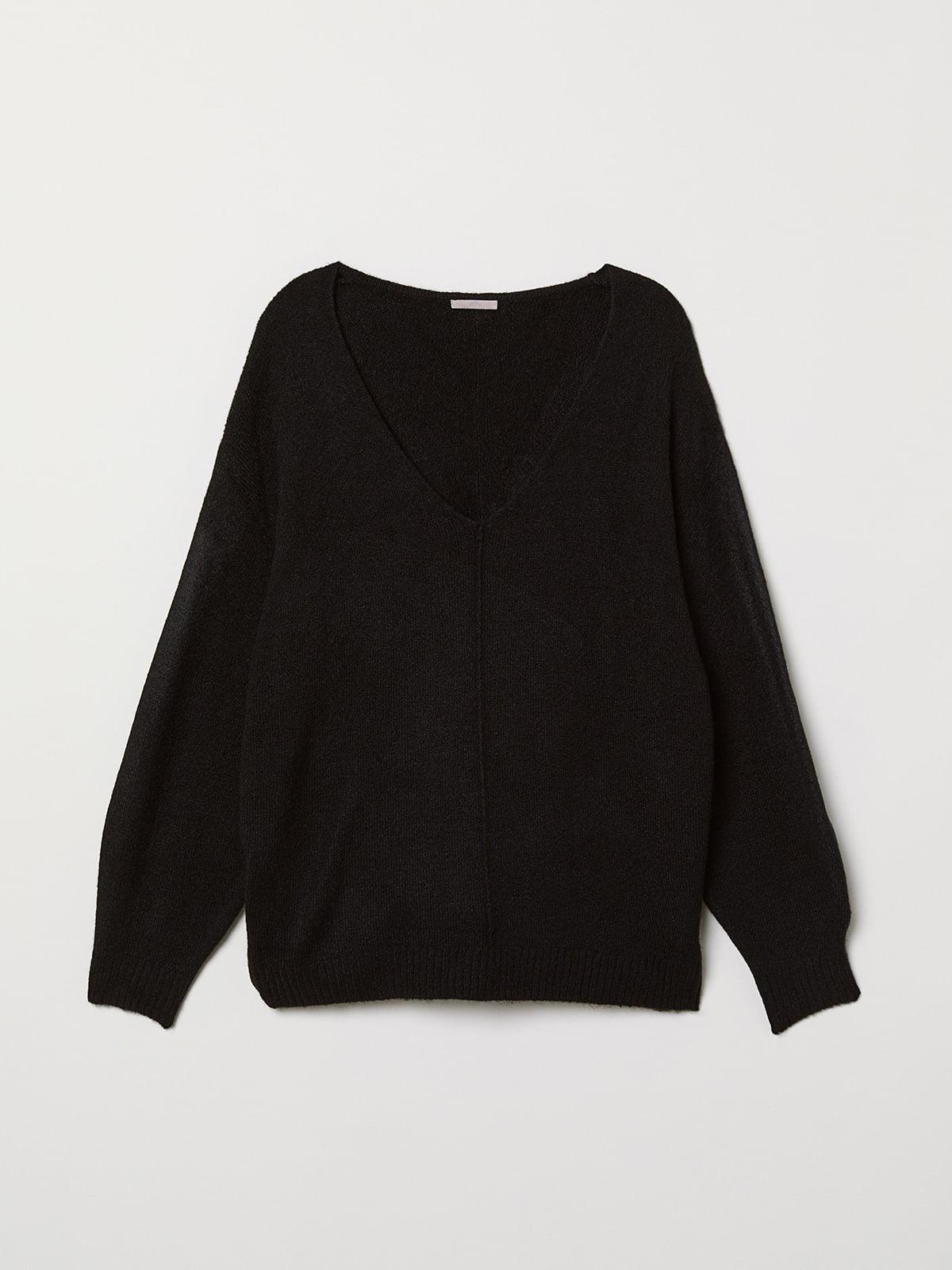 Пуловер черный | 5511659