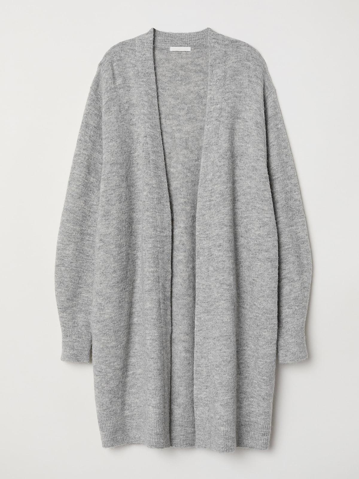 Кардиган серый   5515500