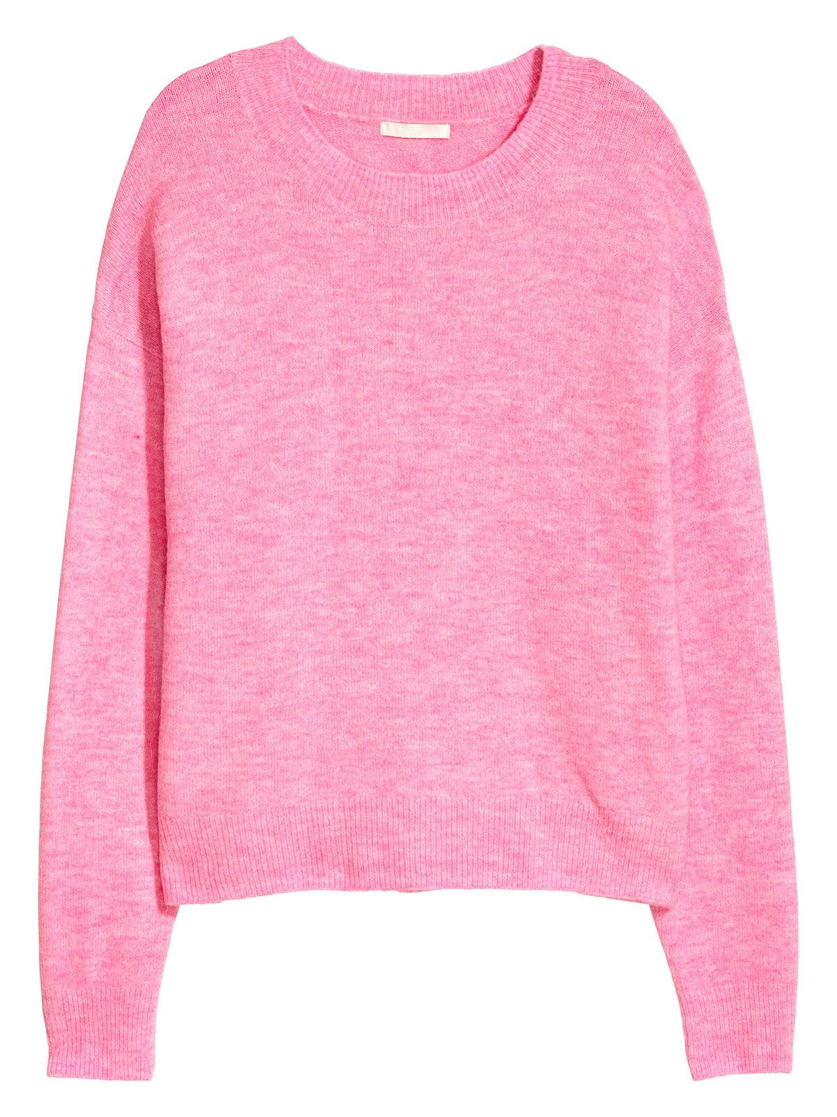 Джемпер розовый   5520102