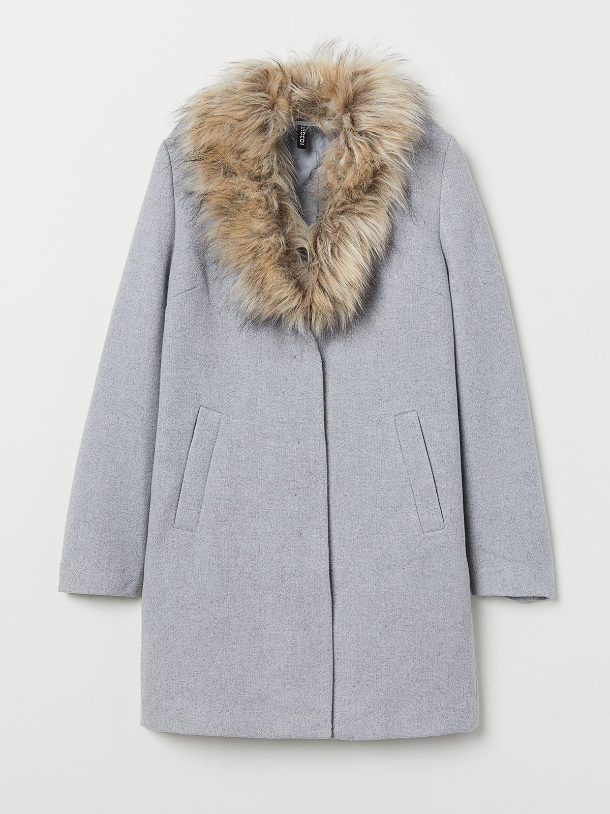 Пальто серое | 5520130