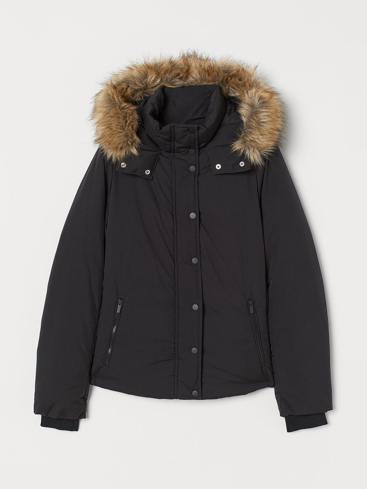 Куртка чорна | 5520176
