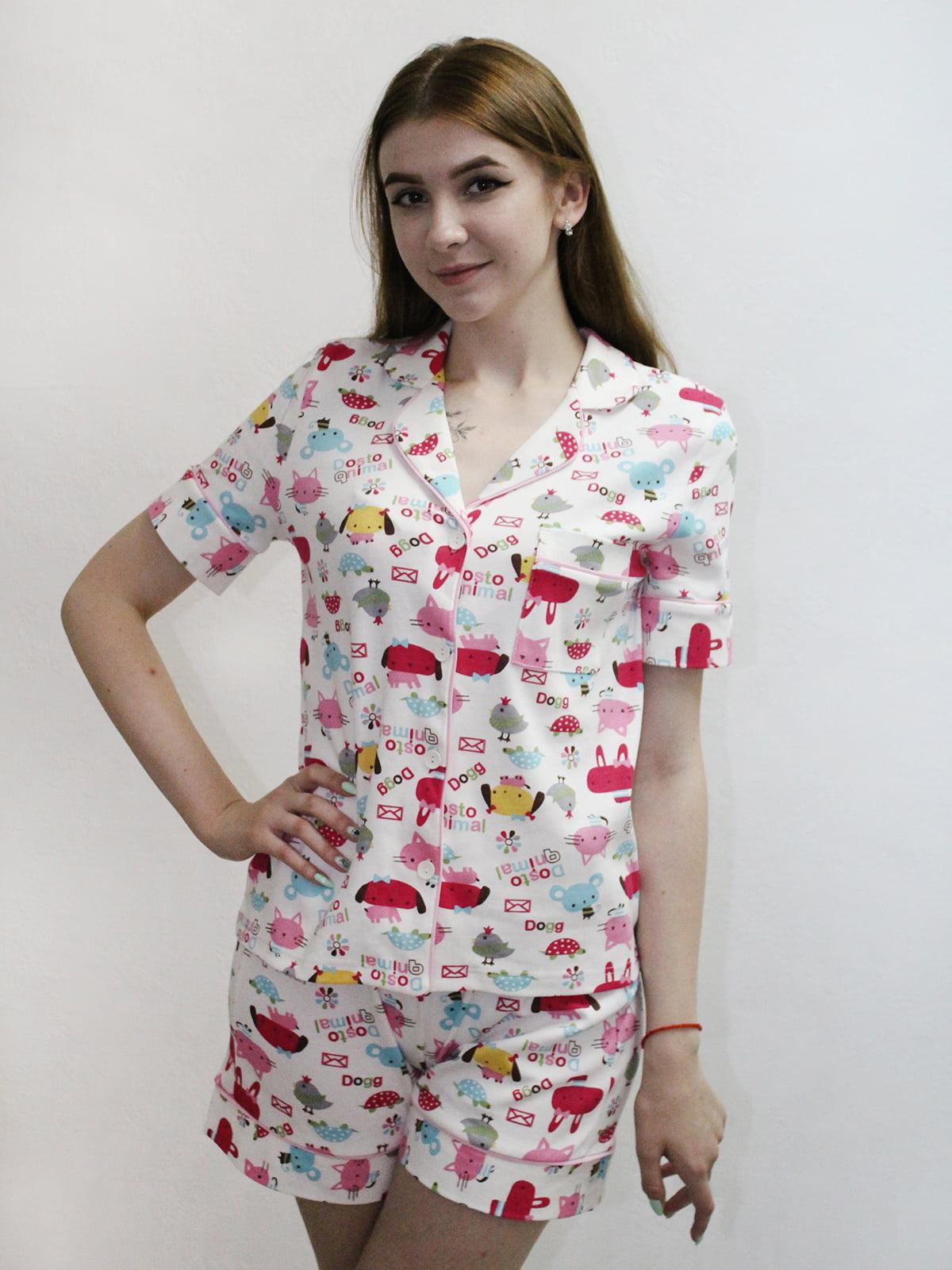 Комплект: рубашка и шорты | 5249954