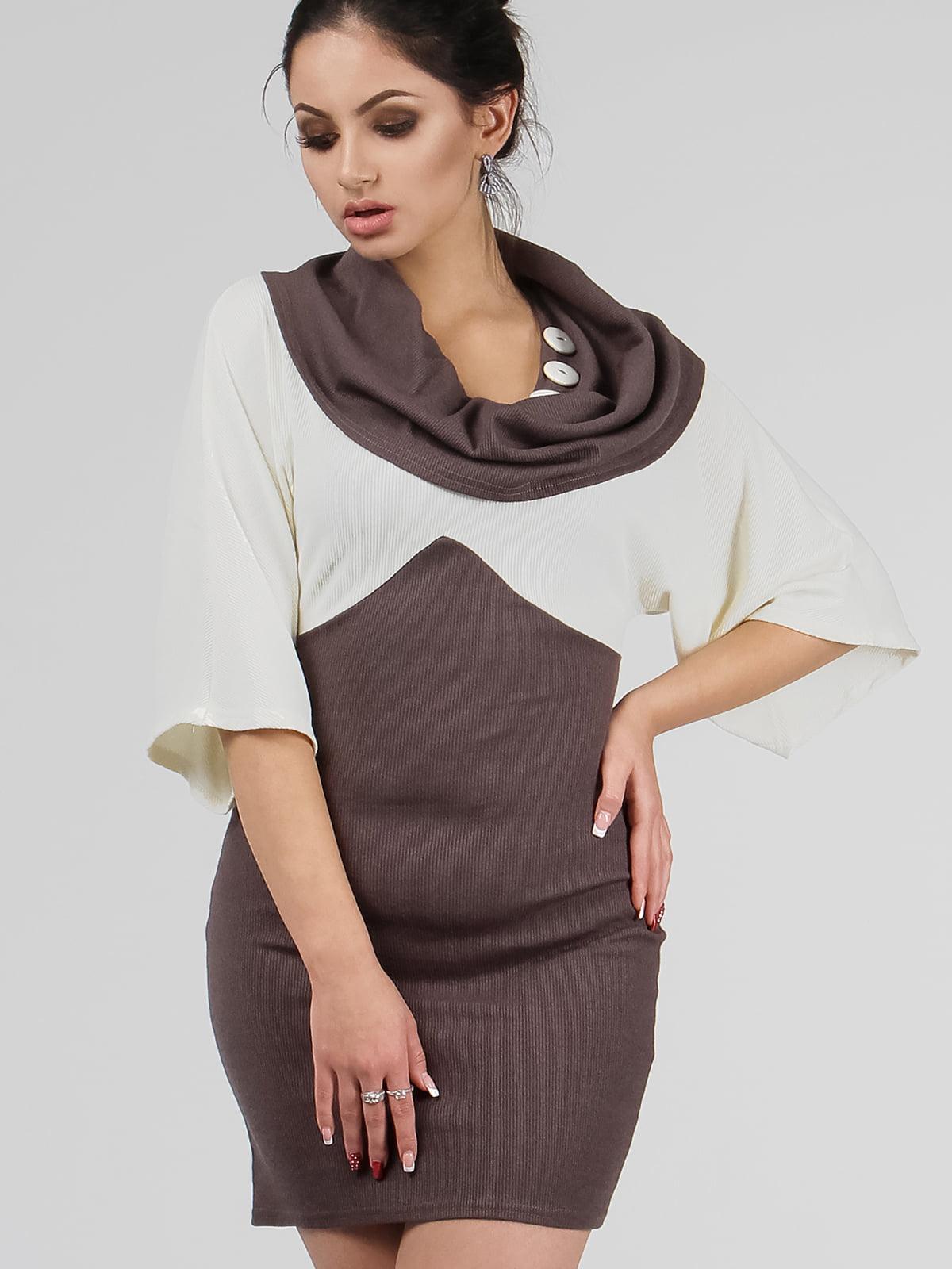 Сукня шоколадного кольору | 5530159