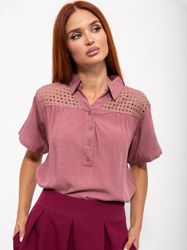 Блуза розовая | 5530357