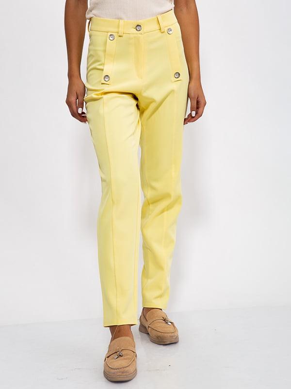 Брюки желтые | 5530423