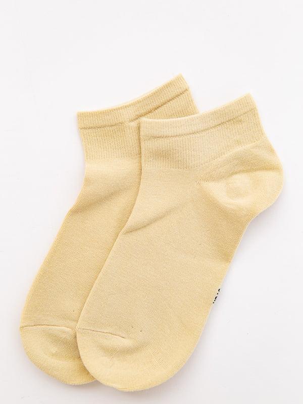 Носки желтые | 5530600