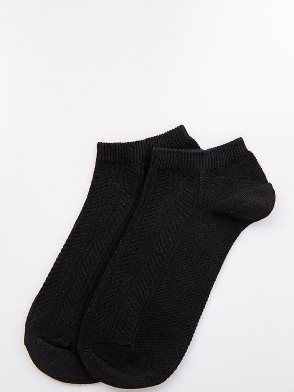 Носки черные с узором | 5530613