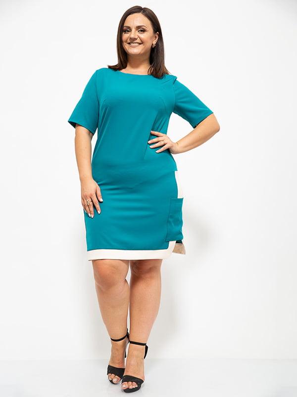 Платье изумрудного цвета | 5530657