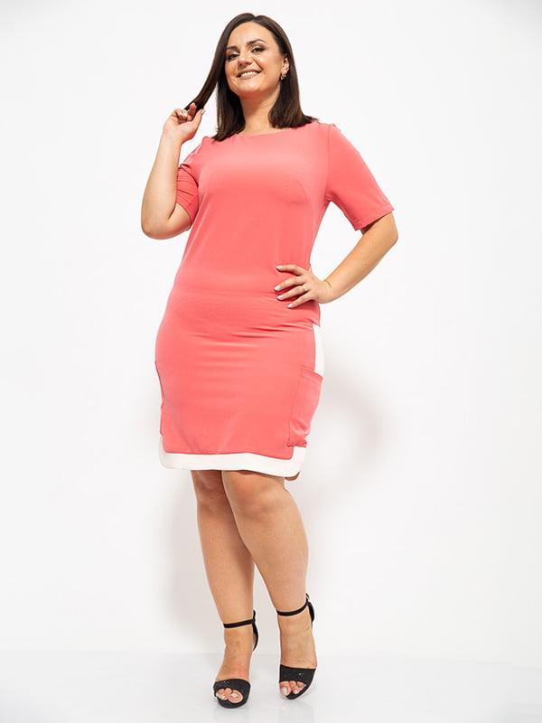 Платье кораллового цвета | 5530658