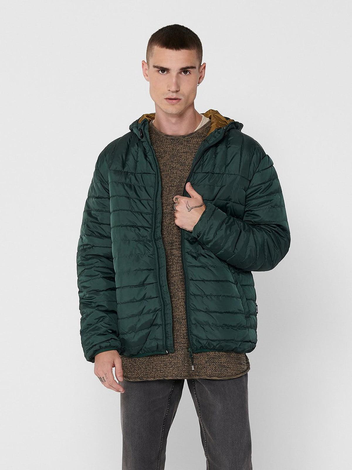 Куртка темно-зеленая   5529973