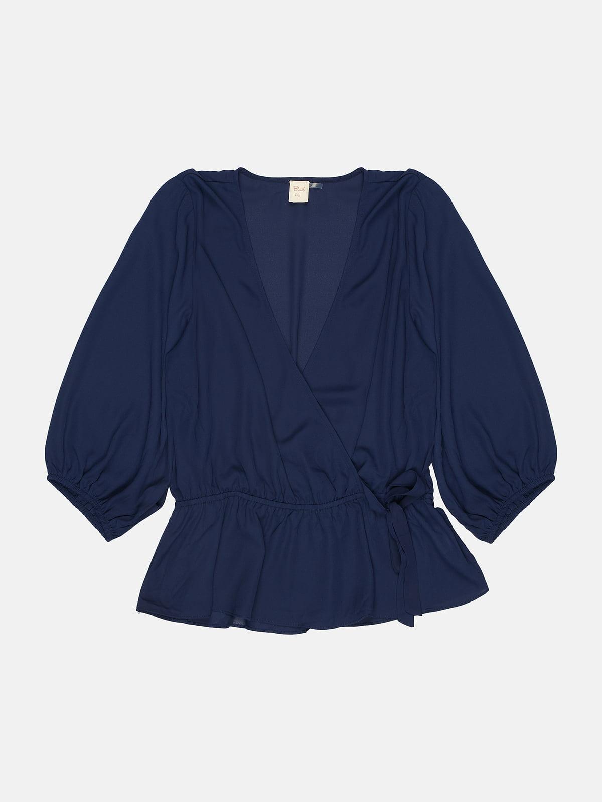 Блуза синяя | 5431312