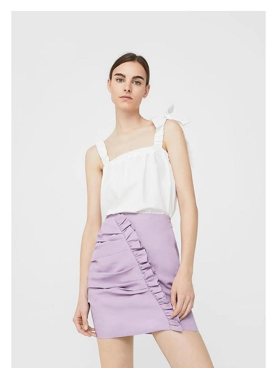 Юбка фиолетовая | 5535100
