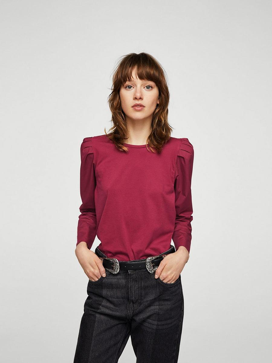 Блуза бордовая | 5535118
