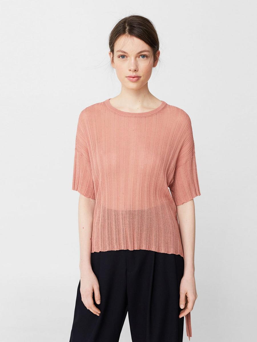 Блуза персикового цвета | 5535230