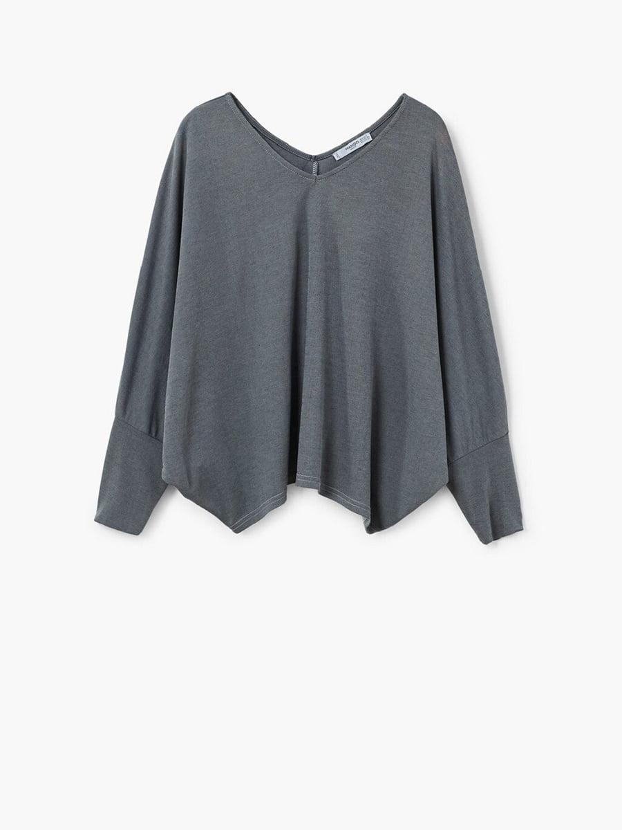 Блуза серая | 5535454