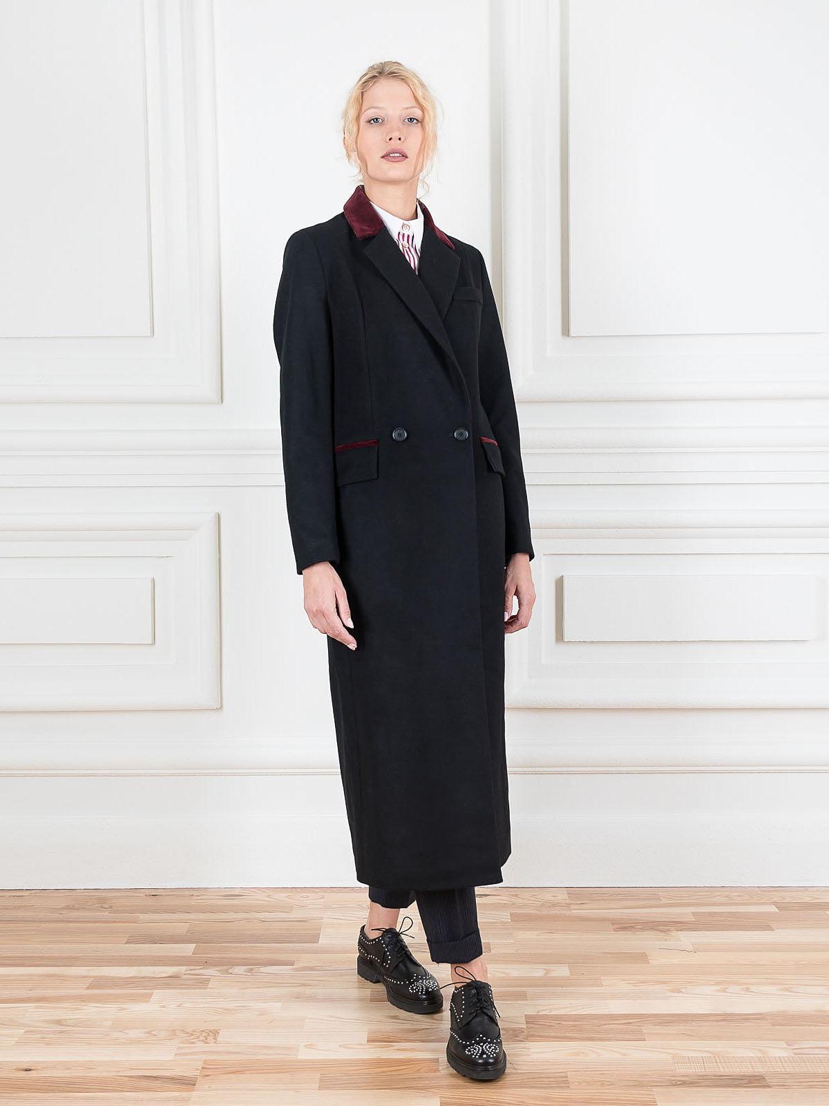 Пальто чорне   5522012
