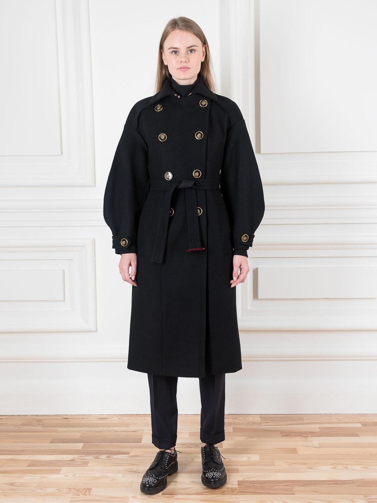 Пальто чорне | 5528491