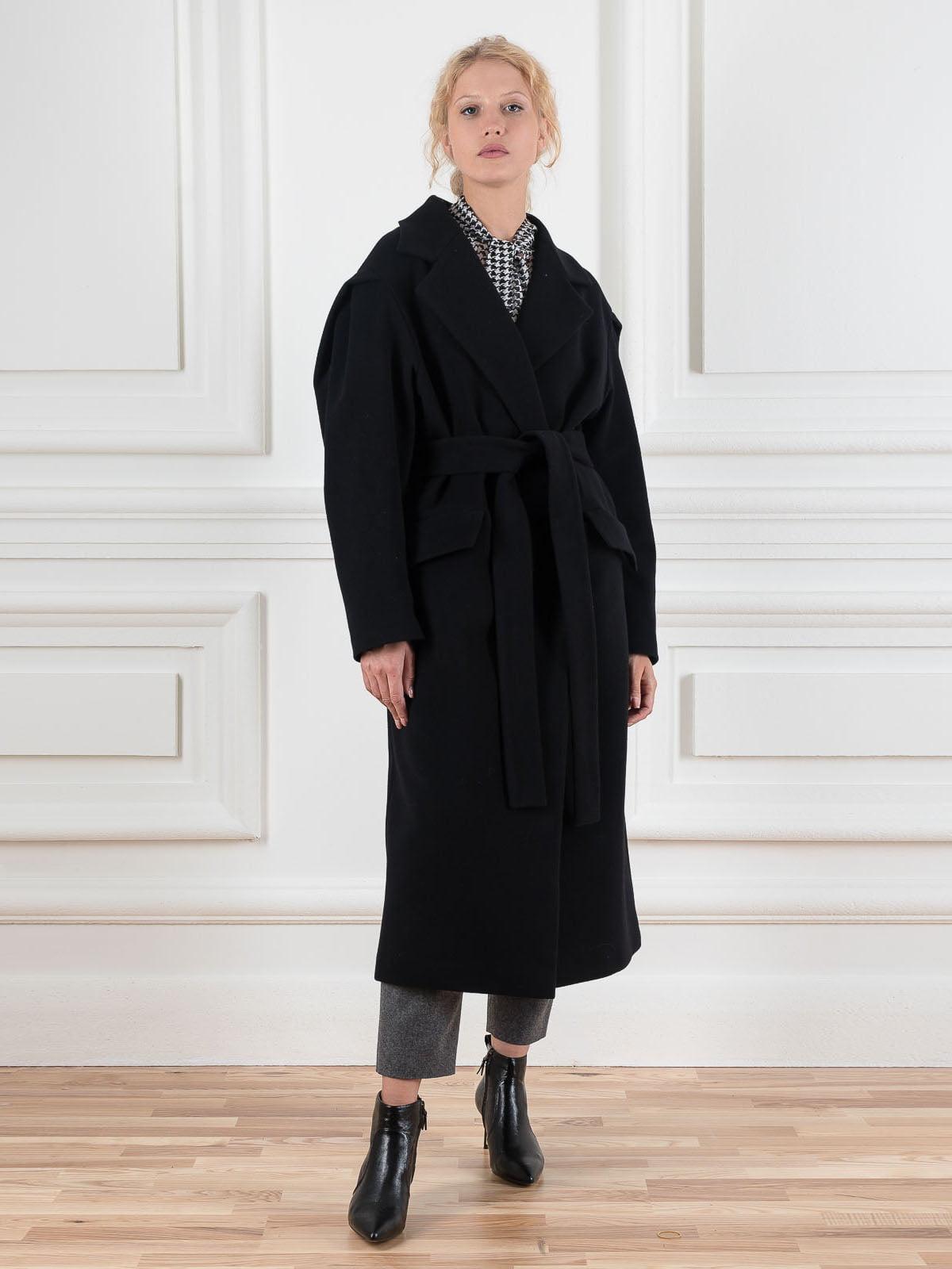 Пальто чорне | 5528492