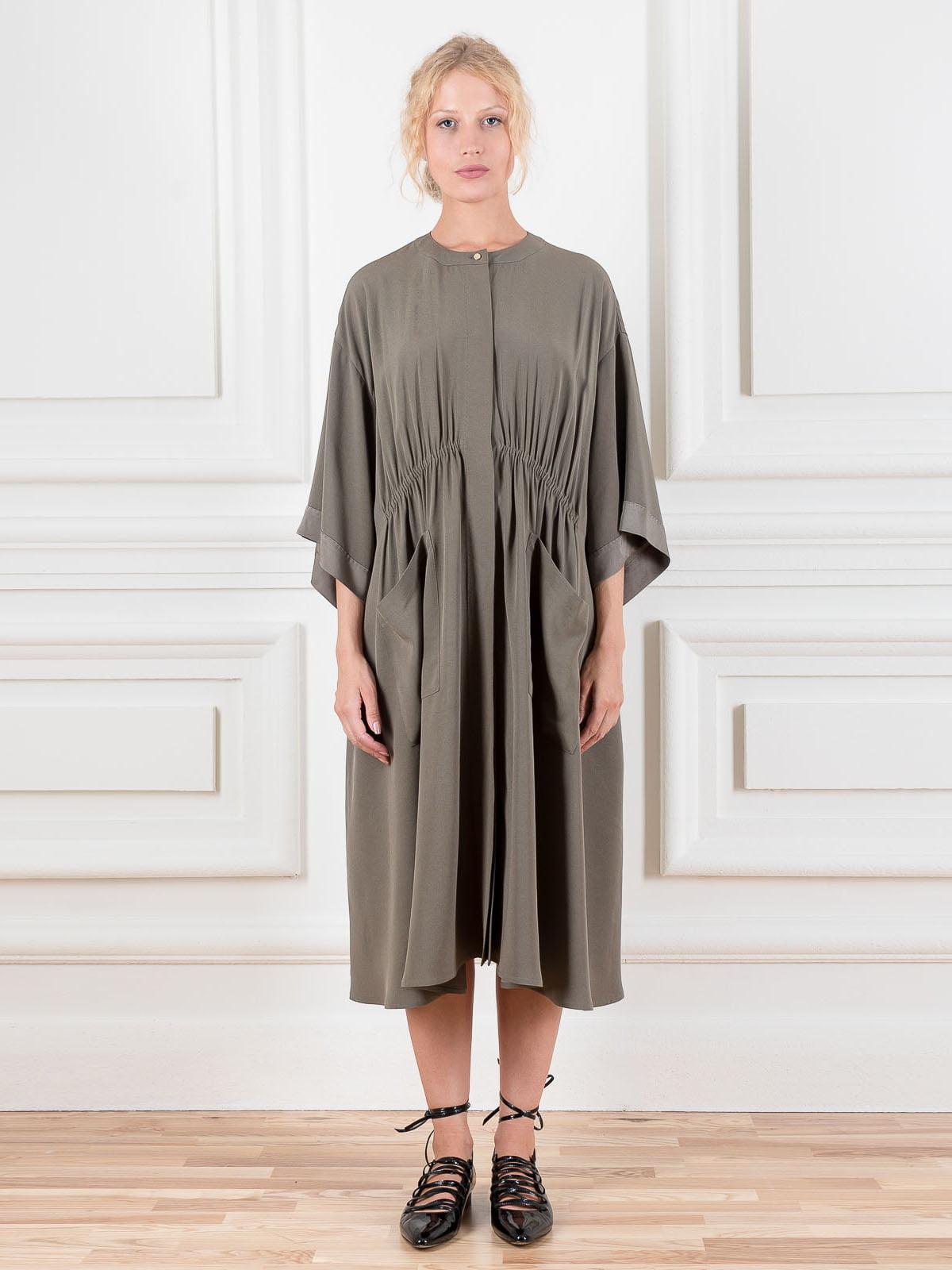 Сукня кольору хакі | 5521991
