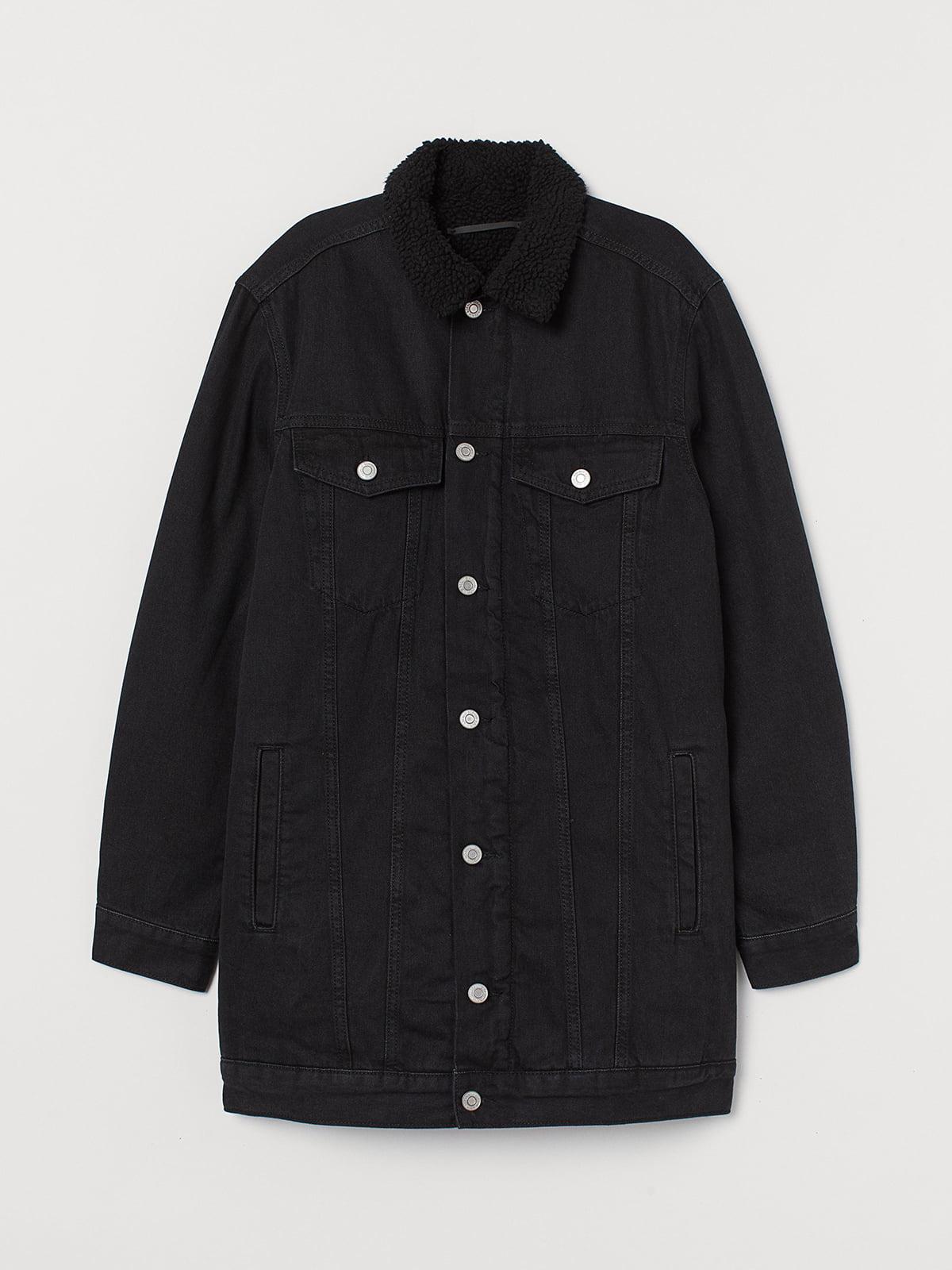 Куртка чорна | 5535694