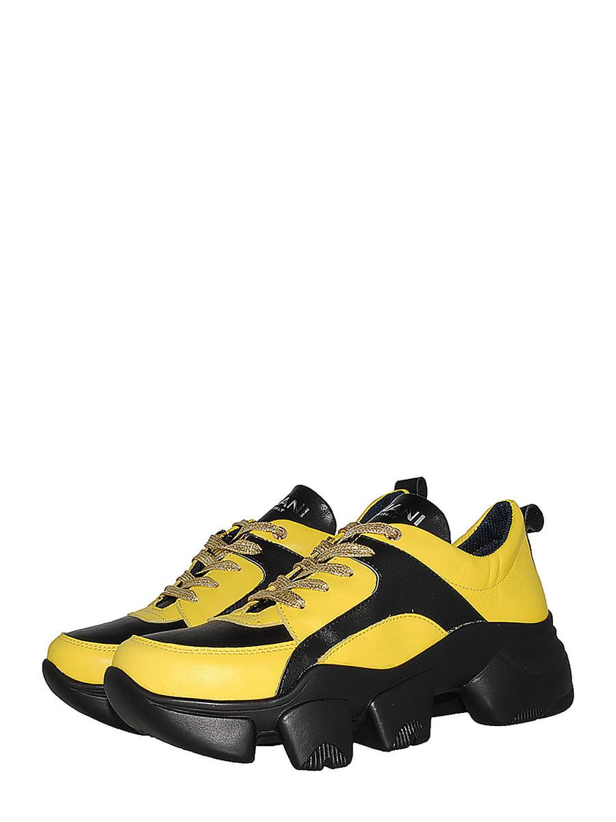 Кросівки жовті | 5536629