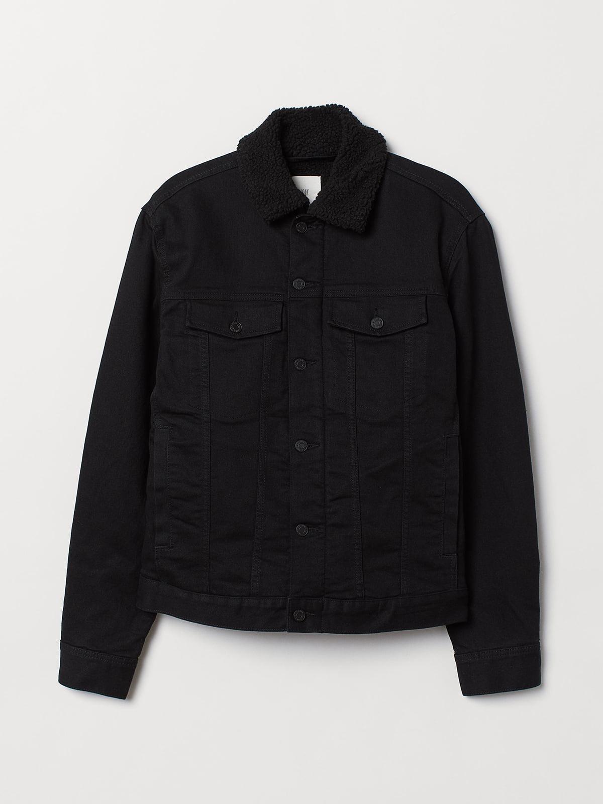 Куртка черная джинсовая | 5537109