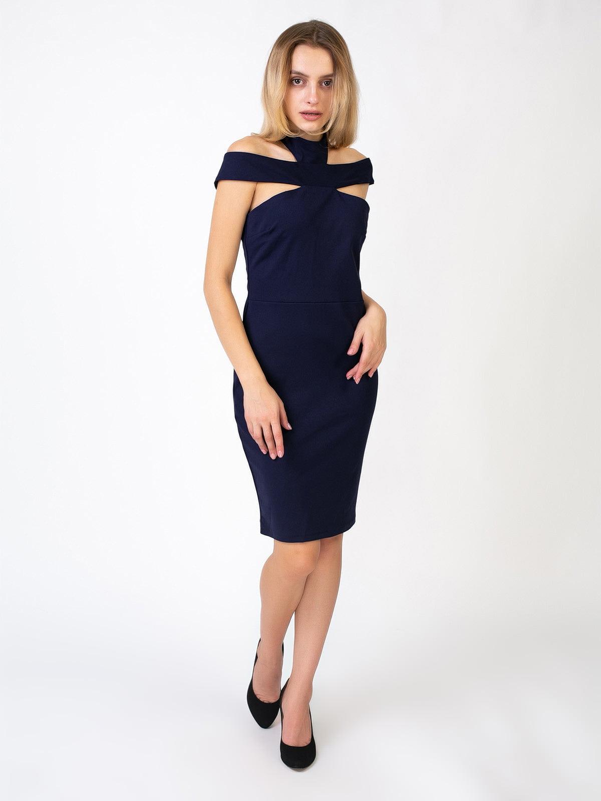 Сукня темно-синя | 5527346