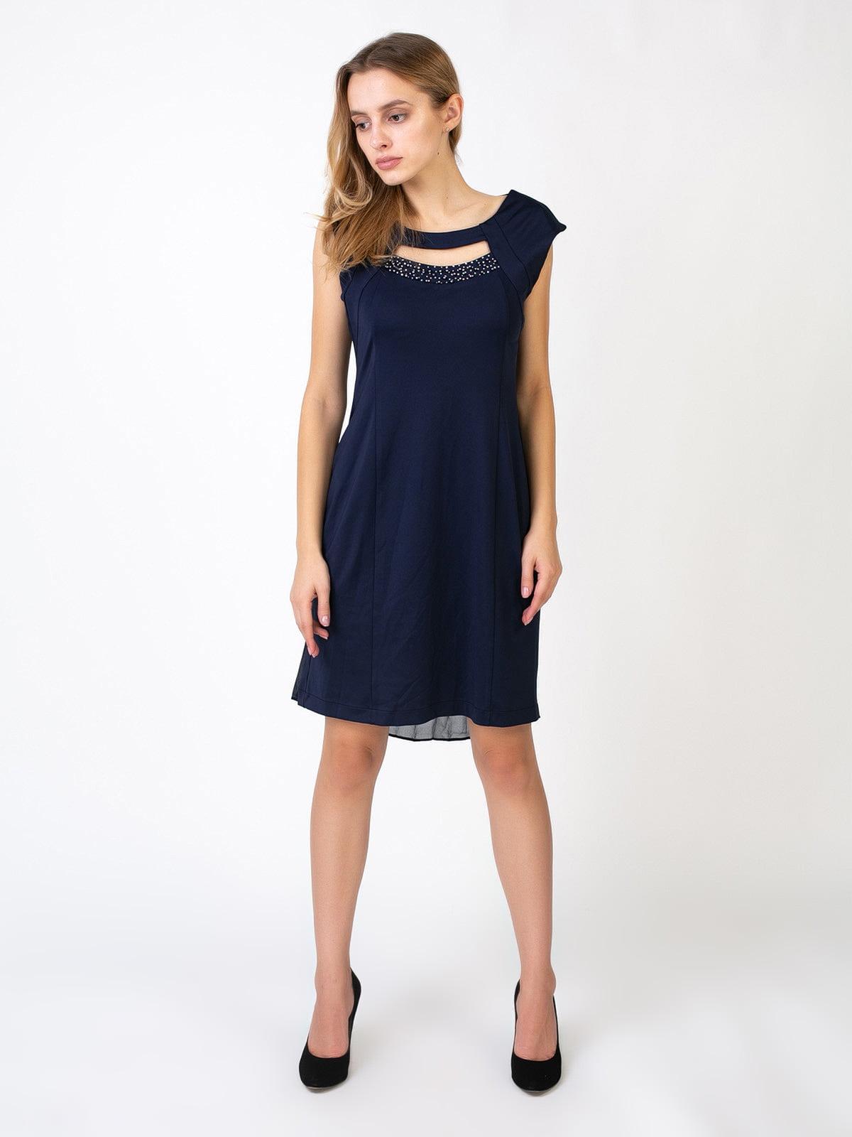 Платье темно-синее | 5527355