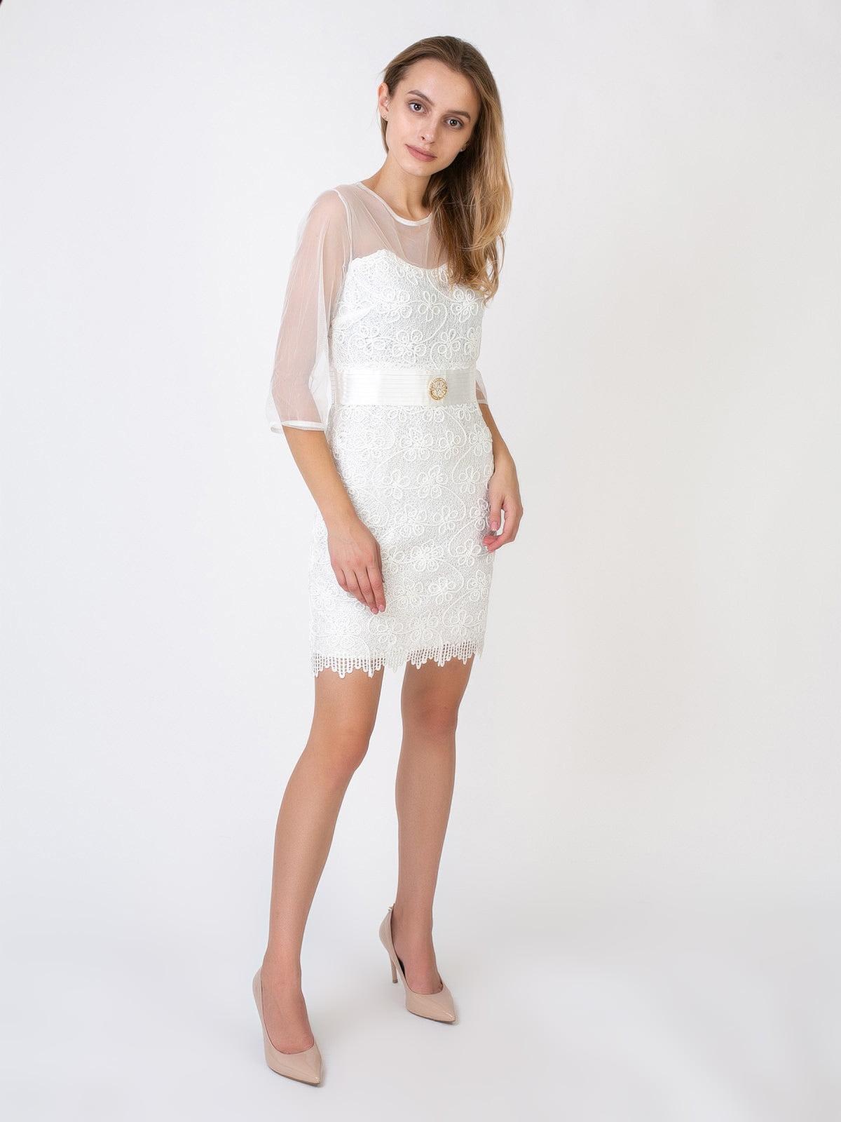 Платье молочного цвета | 5527349