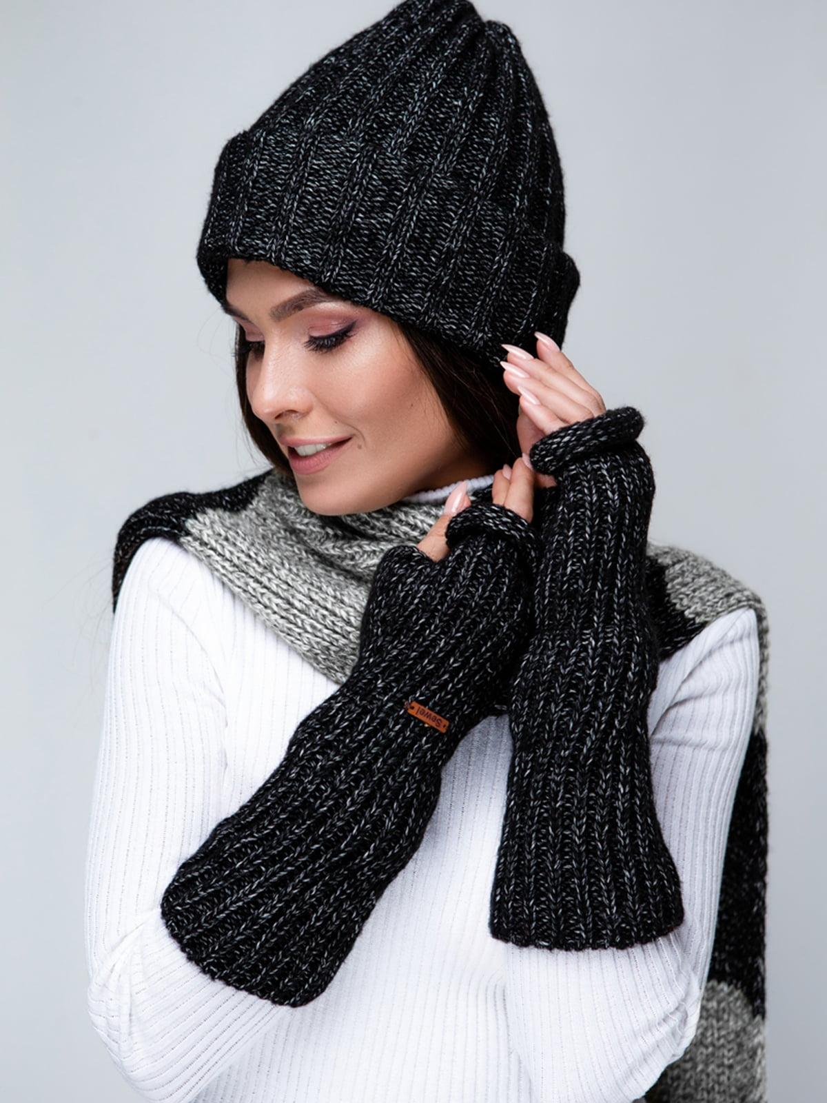 Комплект: шапка та шарф | 5541548