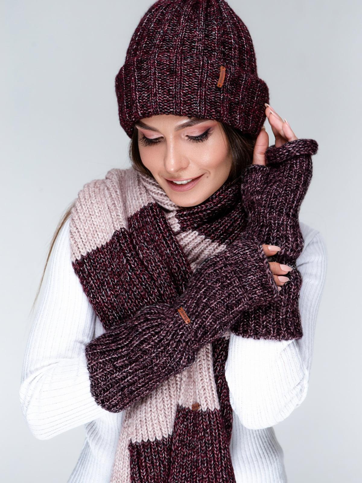 Комплект: шапка та шарф   5541551