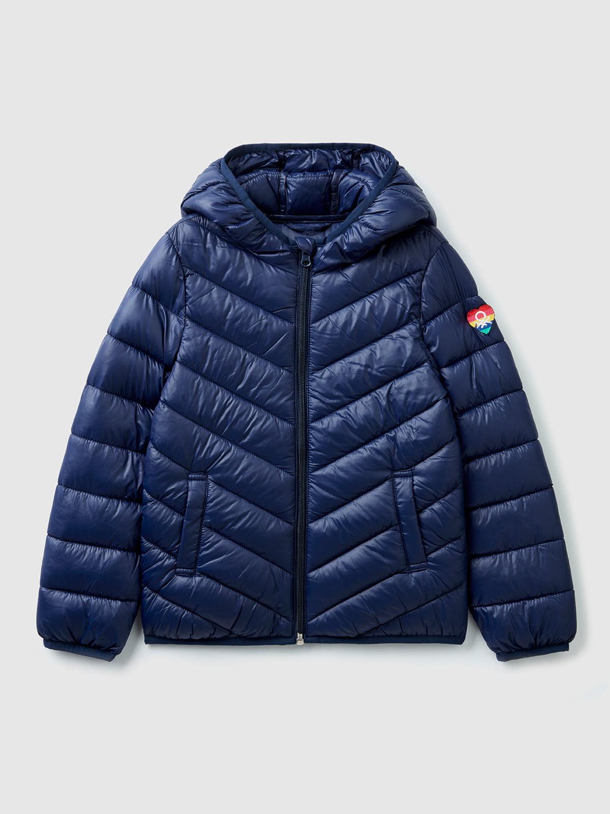 Куртка синяя   5540572