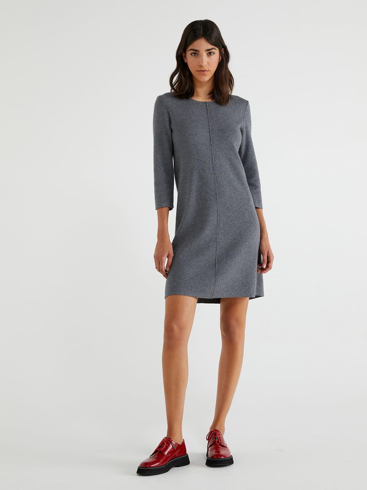 Платье серое   5540783