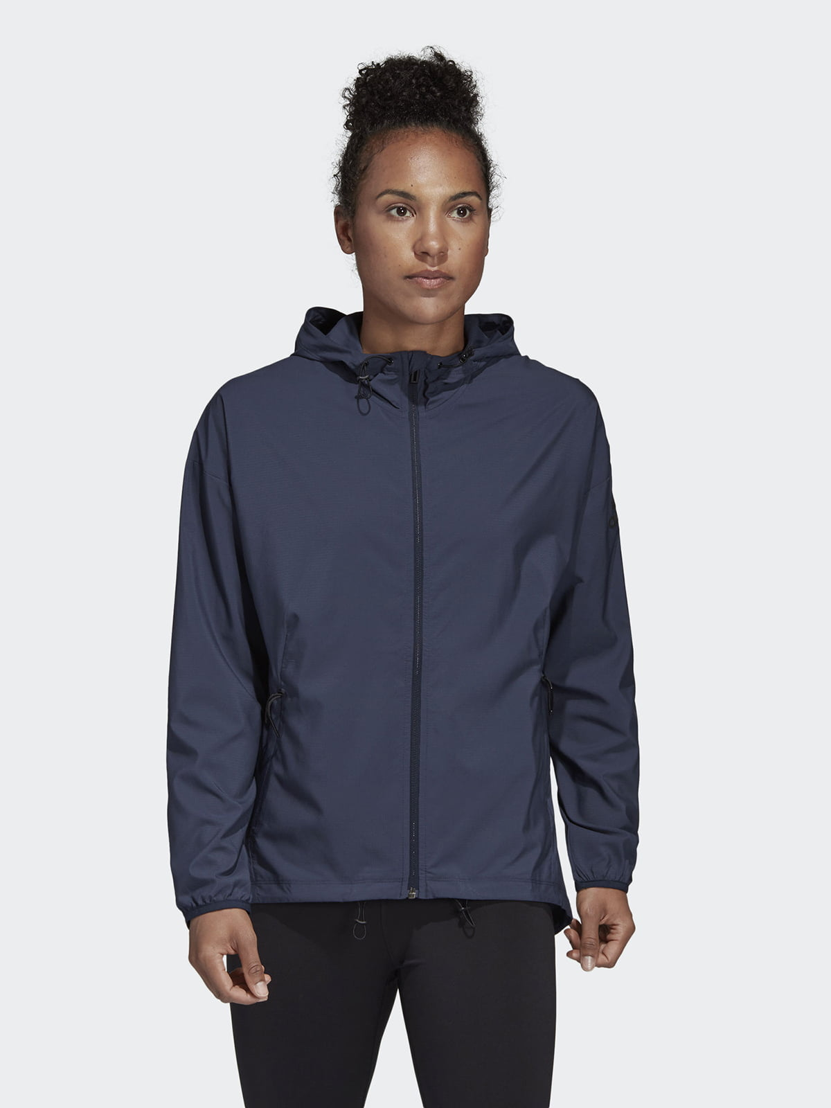 Куртка синяя с логотипом | 5539604