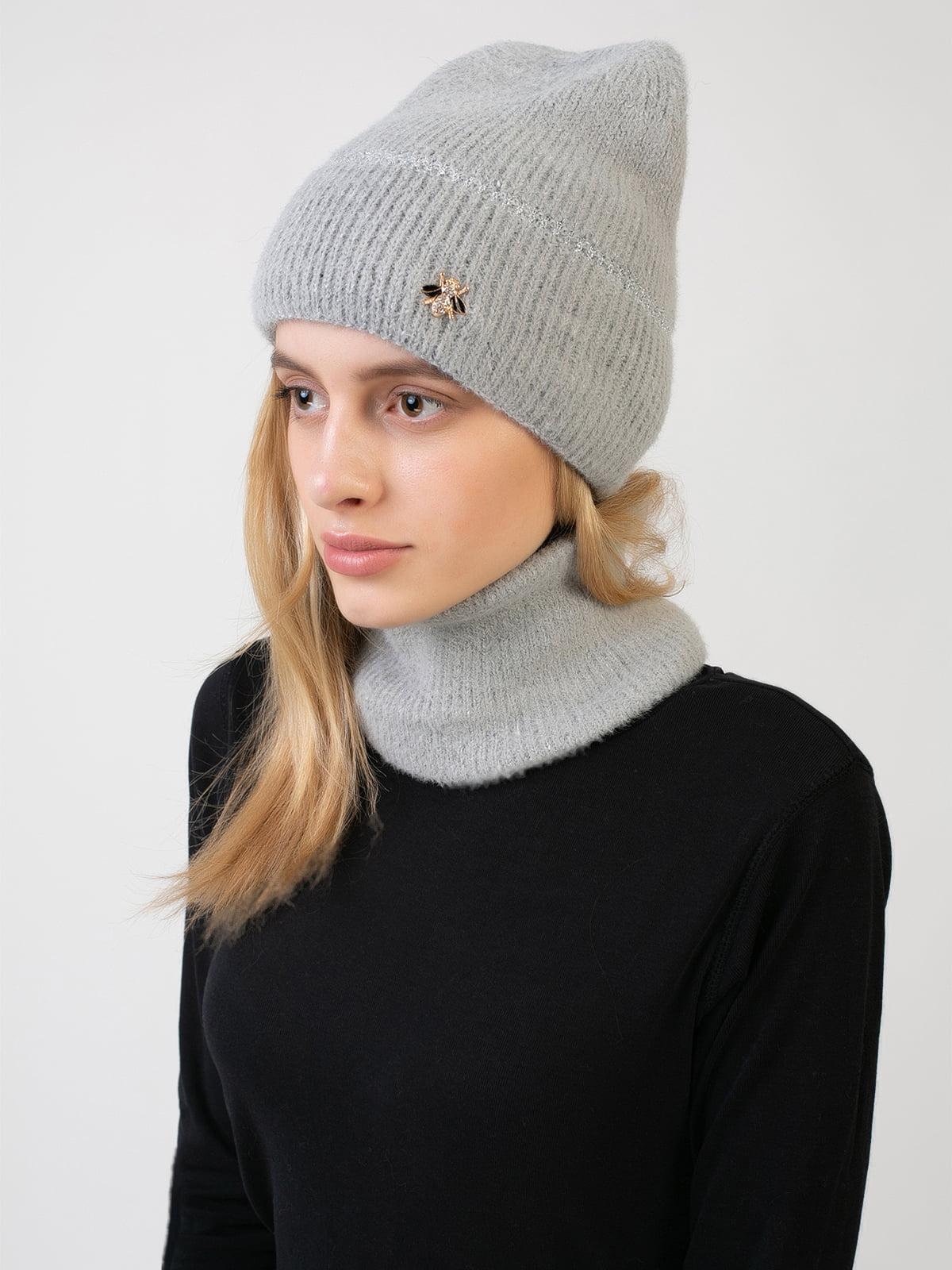Комплект: шапка и шарф-снуд | 5541117