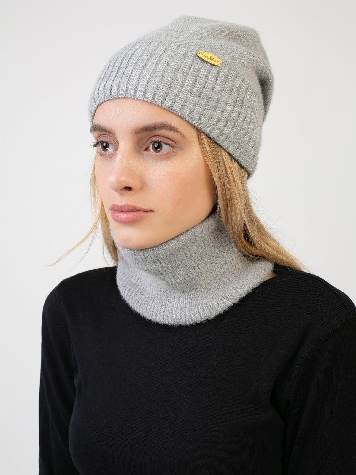 Комплект: шапка и шарф-снуд | 5541107