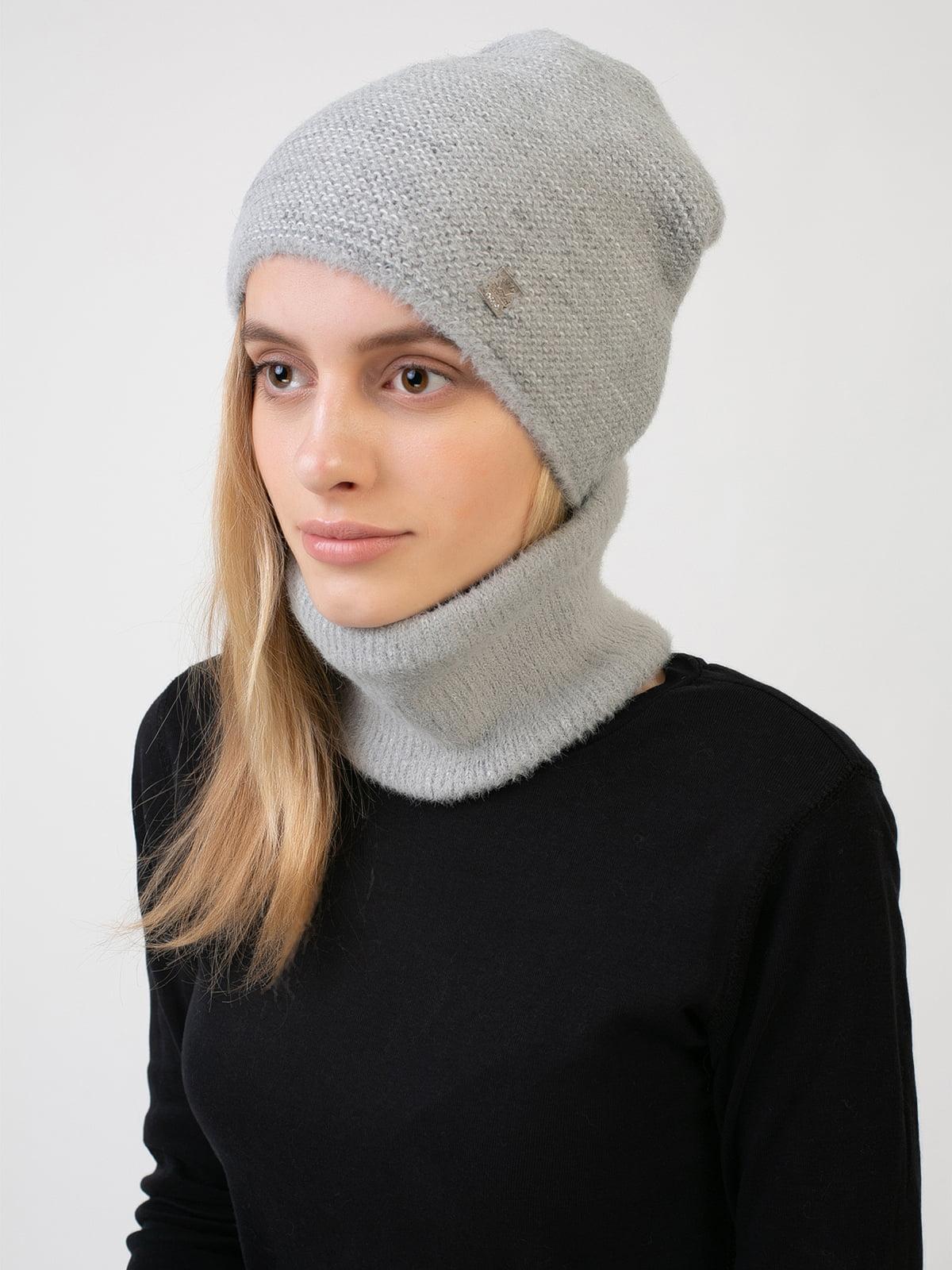 Комплект: шапка і шарф-снуд | 5541125