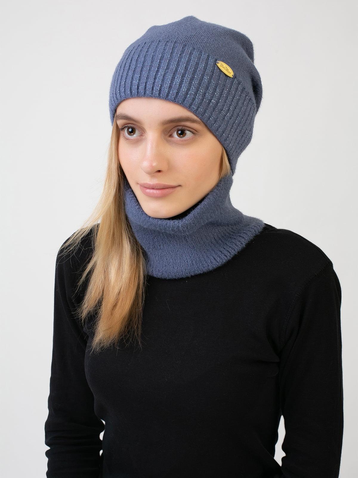 Комплект: шапка и шарф-снуд | 5541108