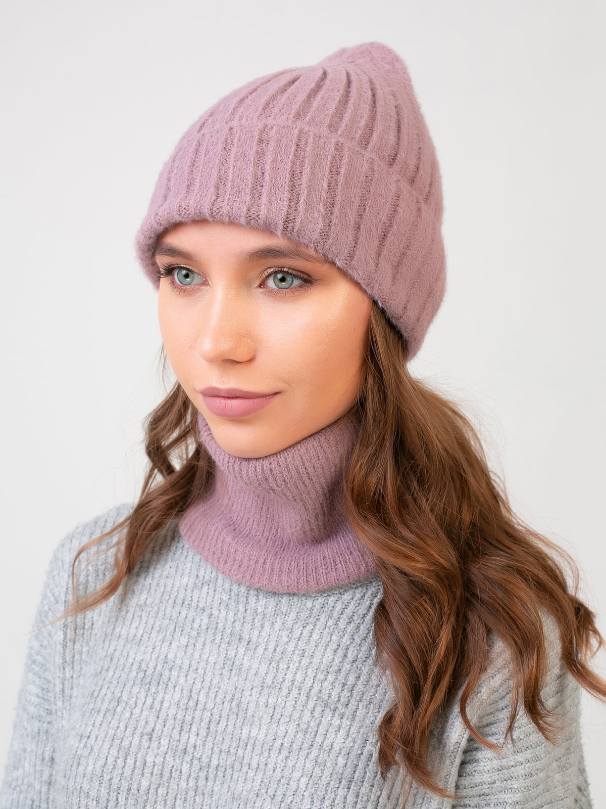 Комплект: шапка і шарф-снуд | 5541132
