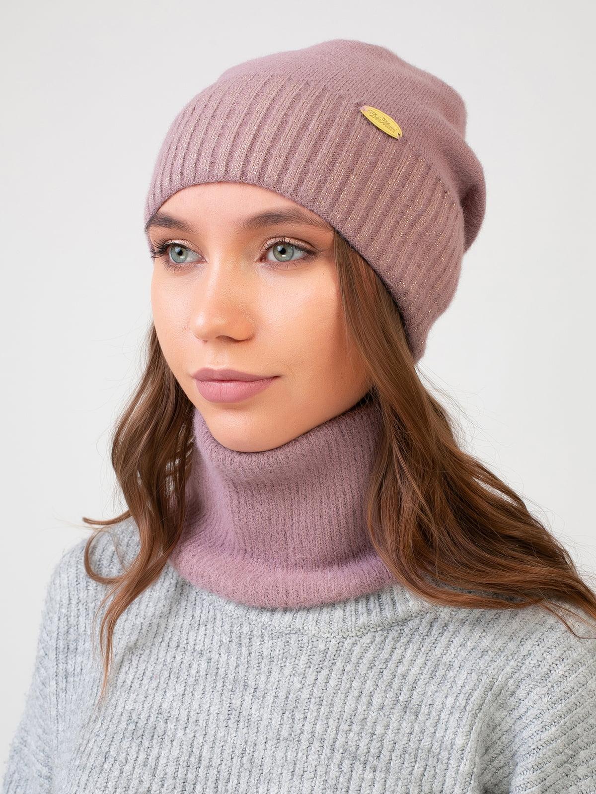 Комплект: шапка і шарф-снуд | 5541104