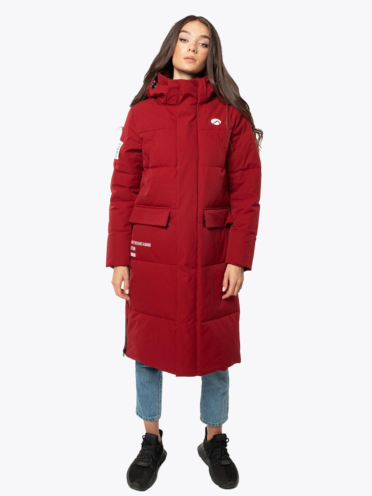 Куртка бордова | 5546871