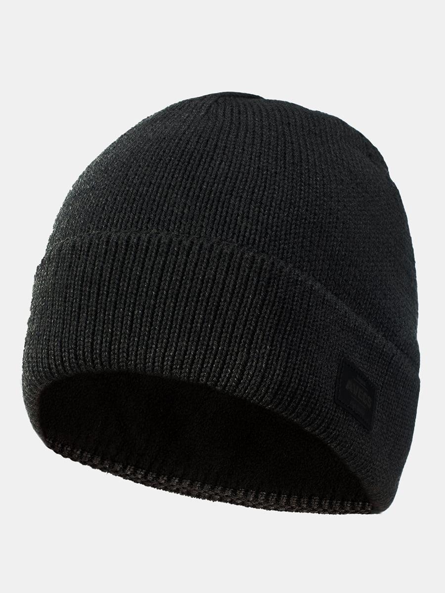 Шапка темно-сіра   5546893