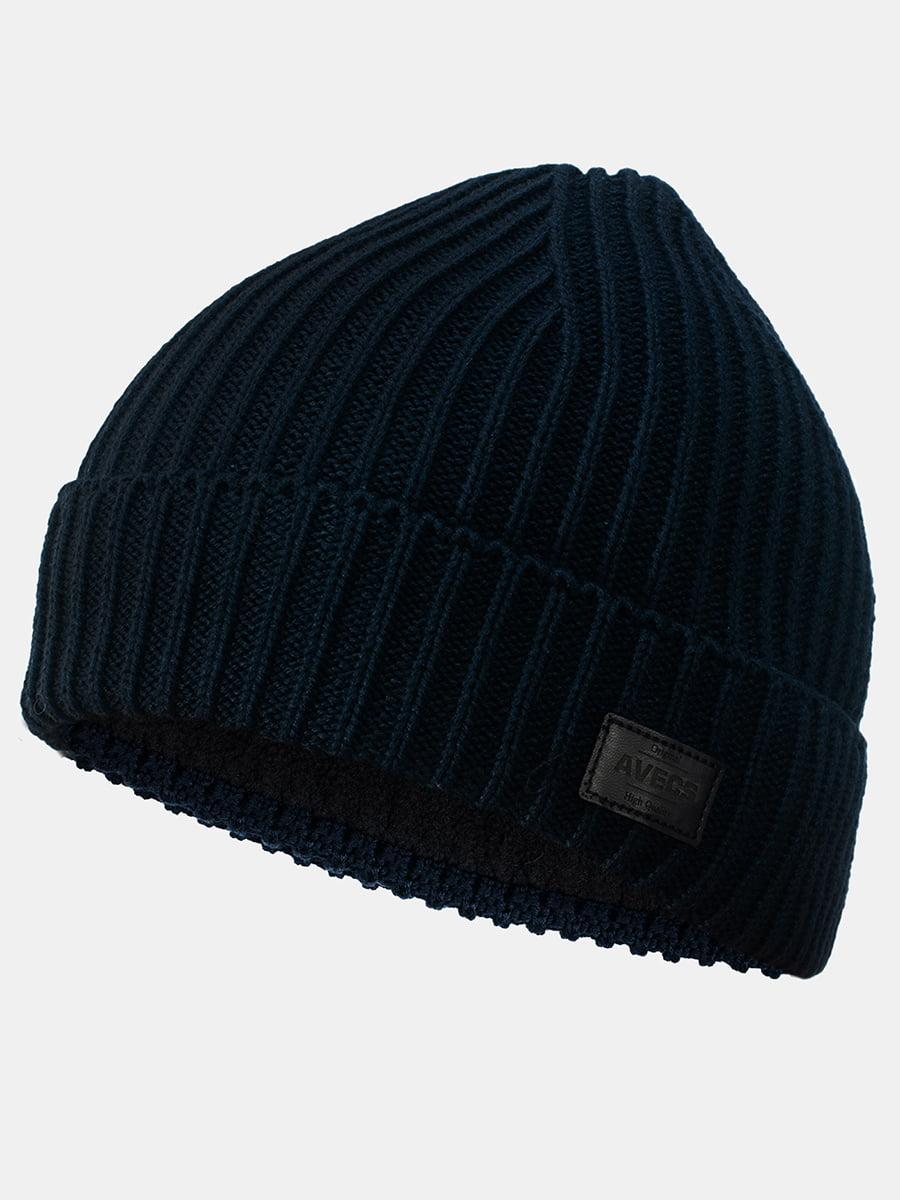 Шапка темно-синя | 5546897
